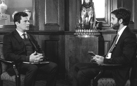 Sergio Moro e Paulo Galvão discutem o sucesso da Lava Jato