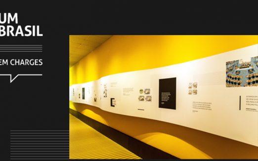 Últimos dias para conferir a exposição UM BRASIL em charges na Fecomercio-SP