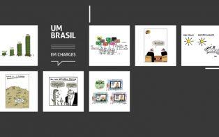 Últimos dias: charges do UM BRASIL estão no Salão de Humor de Piracicaba