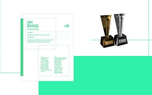 Livro #6 do UM BRASIL é vencedor do Prêmio Aberje