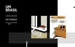 Senac São Miguel Paulista sedia exposição de charges em parceria com UM BRASIL