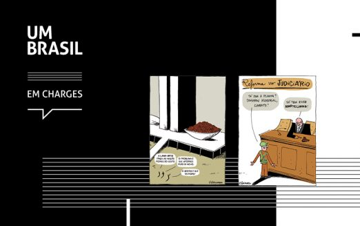 Última semana da exposição UM BRASIL em Charges na Uninove