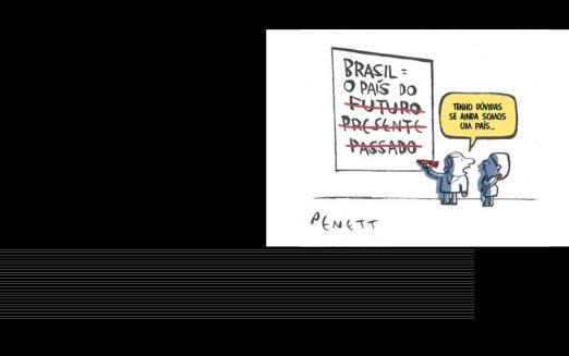 """Universidade São Judas recebe exposição """"UM BRASIL em charges"""""""