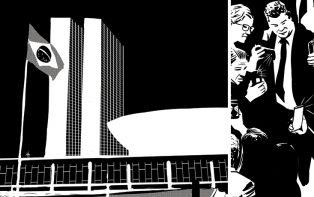 """Jornalismo em quadrinhos: UM BRASIL e revista """"PB"""" se unem em edição especial"""