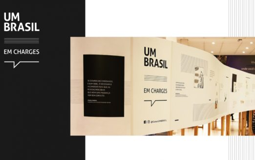 """Sete mil pessoas devem visitar """"UM BRASIL em charges"""" na São Judas"""